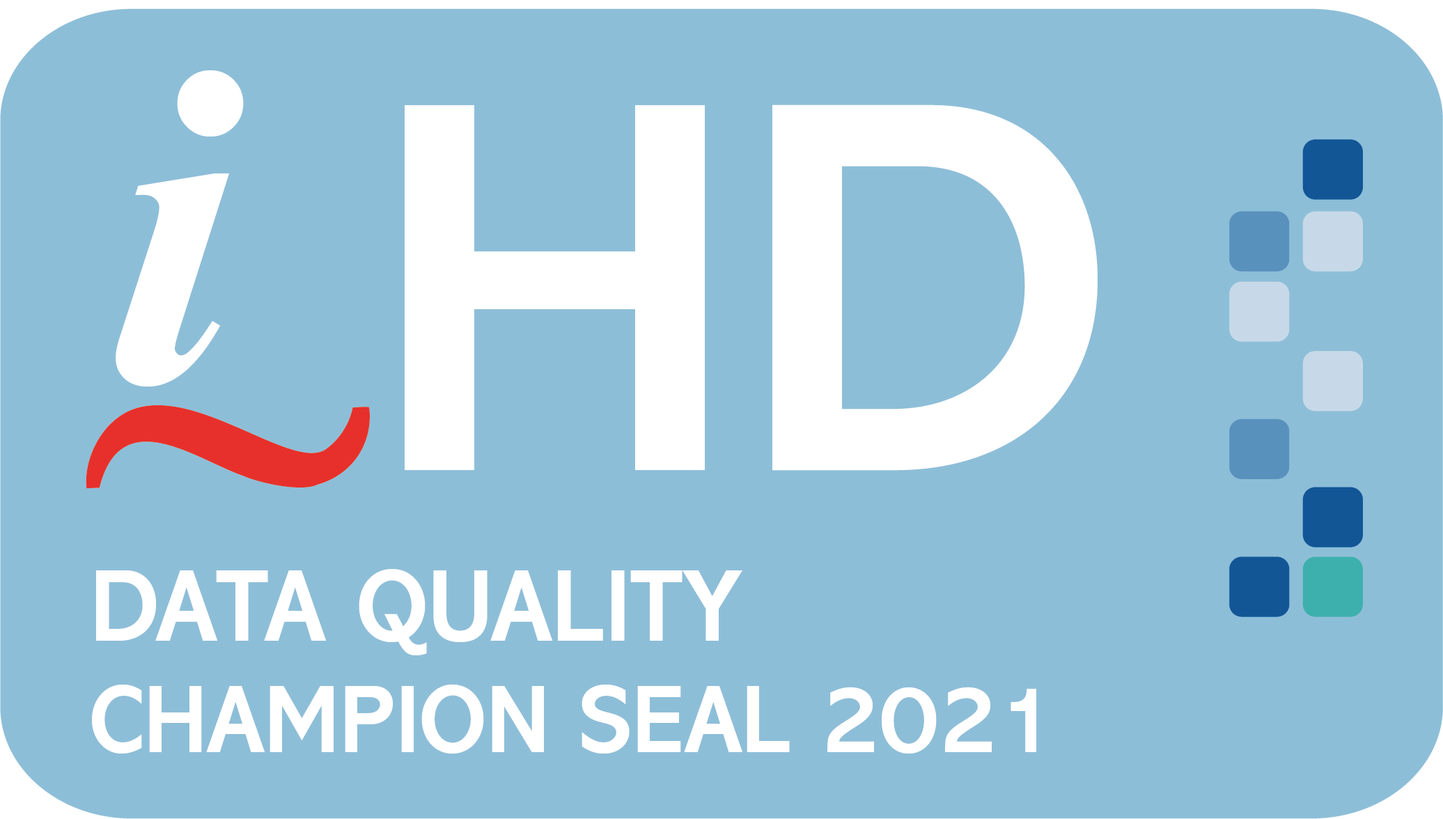 data quality champion seal